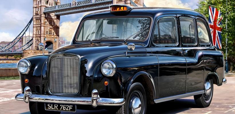 По Лондону. На такси