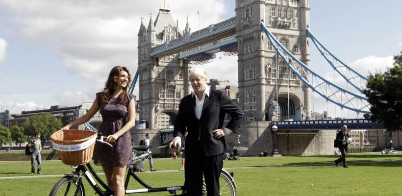 По Лондону. На велосипеде