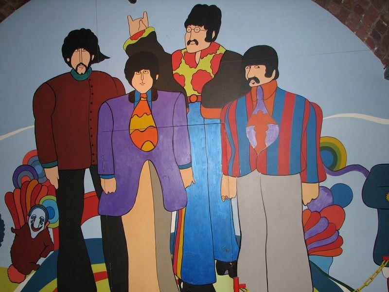 Музей Битлз (The Beatles) в Ливерпуле (Liverpool)