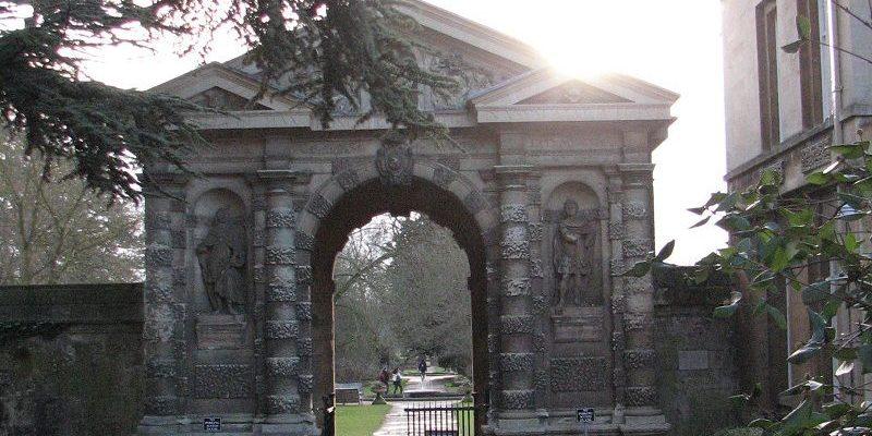 Сад Оксфордского университета