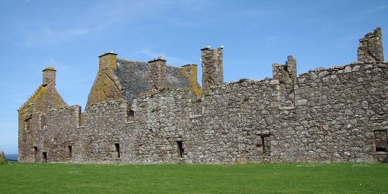 Стоунхевен. Замок Дунноттар (Stonehaven. Castle Dunnottar)