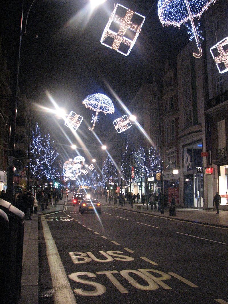 Новый год в Лондоне, 2010