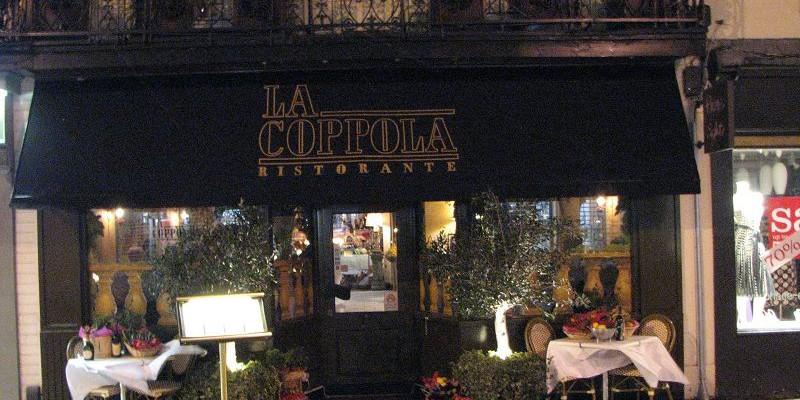 Леамингтон Спа. Ресторан Ля Каппола (Ristorante La Cappola)