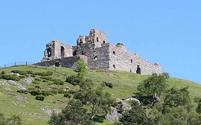 Клан Гордон. Замок в Бухане и Стратбоги