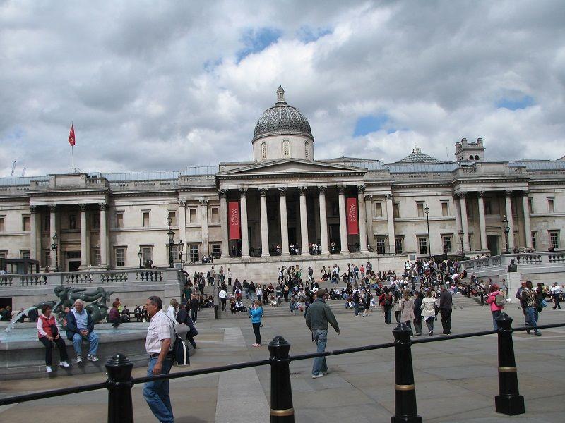 Лондон. Трафальгарская площадь (London. Trafalgar Square)