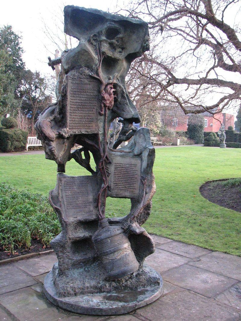 Страфорд (Stratford-upon-Avon). Сад Музей Шекспира
