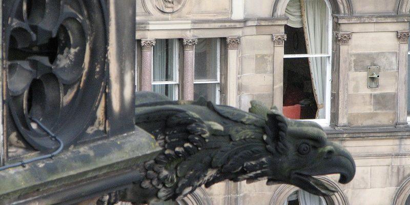 Эдинбург (Edinburgh). Монумент сэра Вальтера Скотта