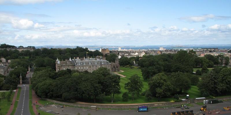 Эдинбург (Edinburgh). Вид сверху!
