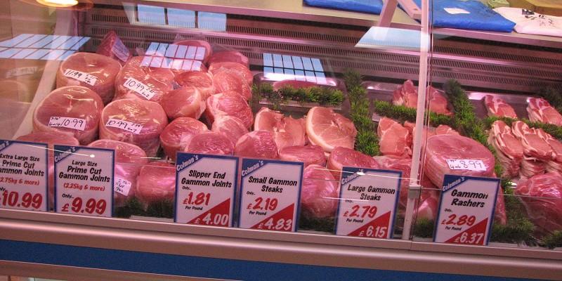 Ньюкасл (Newcastle). Рынок. Мясо