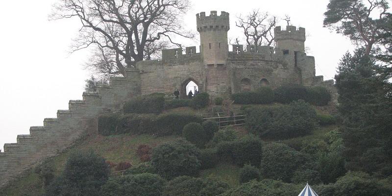 Варвик (Warwick). Замок. Главный вход