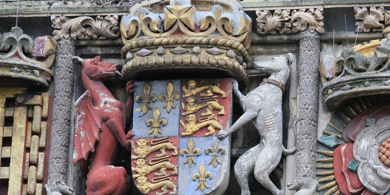 Кентербери. Кентерберийский собор. Главный вход