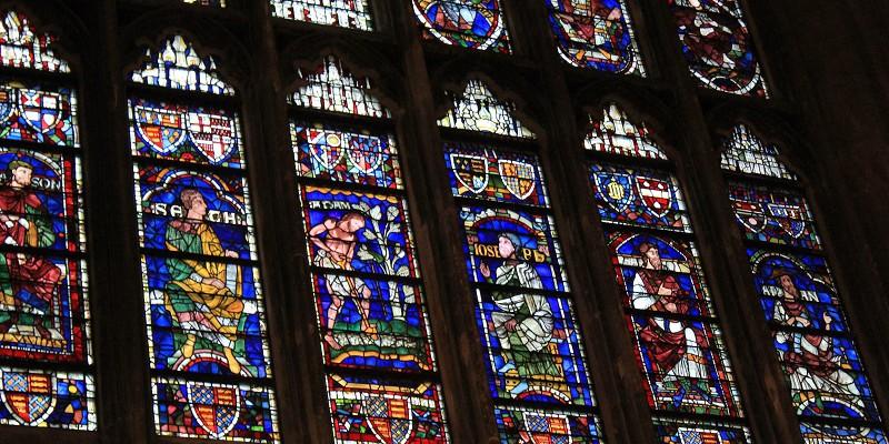 Кентербери. Кентерберийский собор. Внутреннее убранство