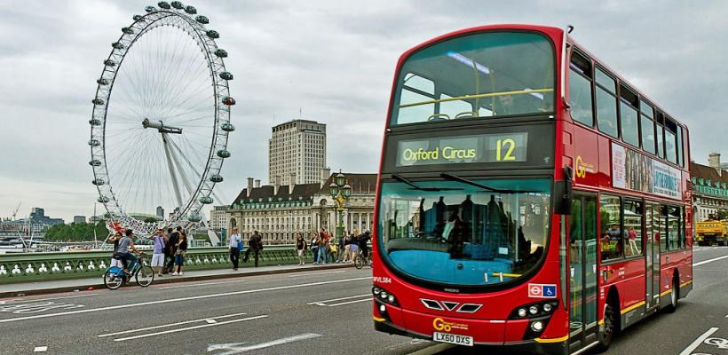 По Лондону. На автобусе