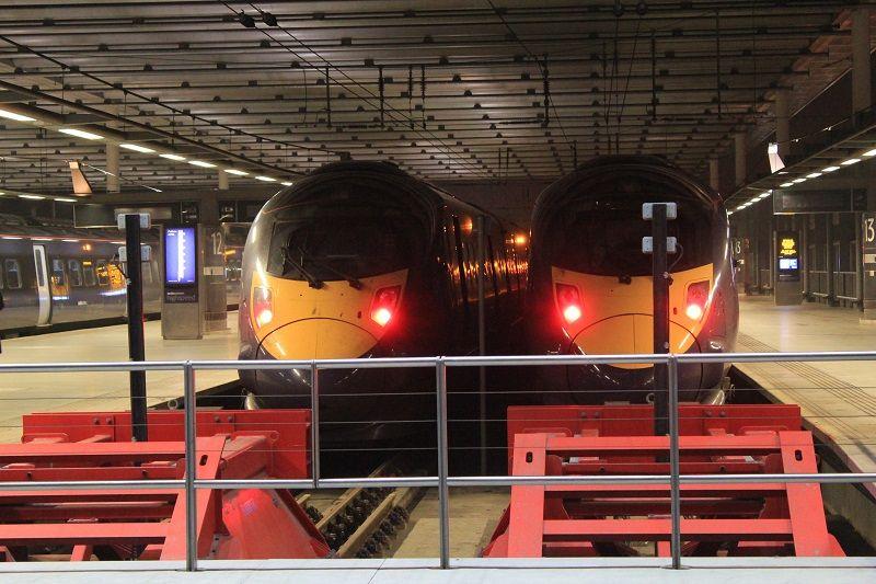 Лондон. Вокзал Сент-Панкрас (St Pancras)